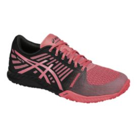 ASICS Women's fuzeX Training Shoes - Pink/Black