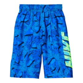 Nike Swim Boys' Granite 9 Inch Volley Swim Shorts