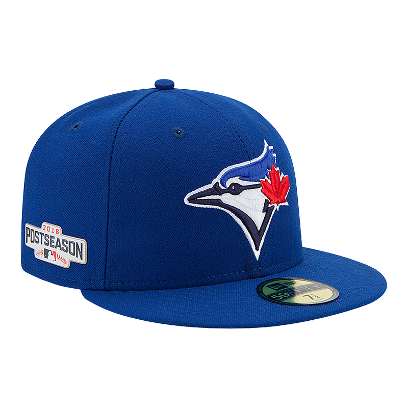 3a490e7cc60 Toronto Blue Jays 2016 59Fifty AC Postseason Hat