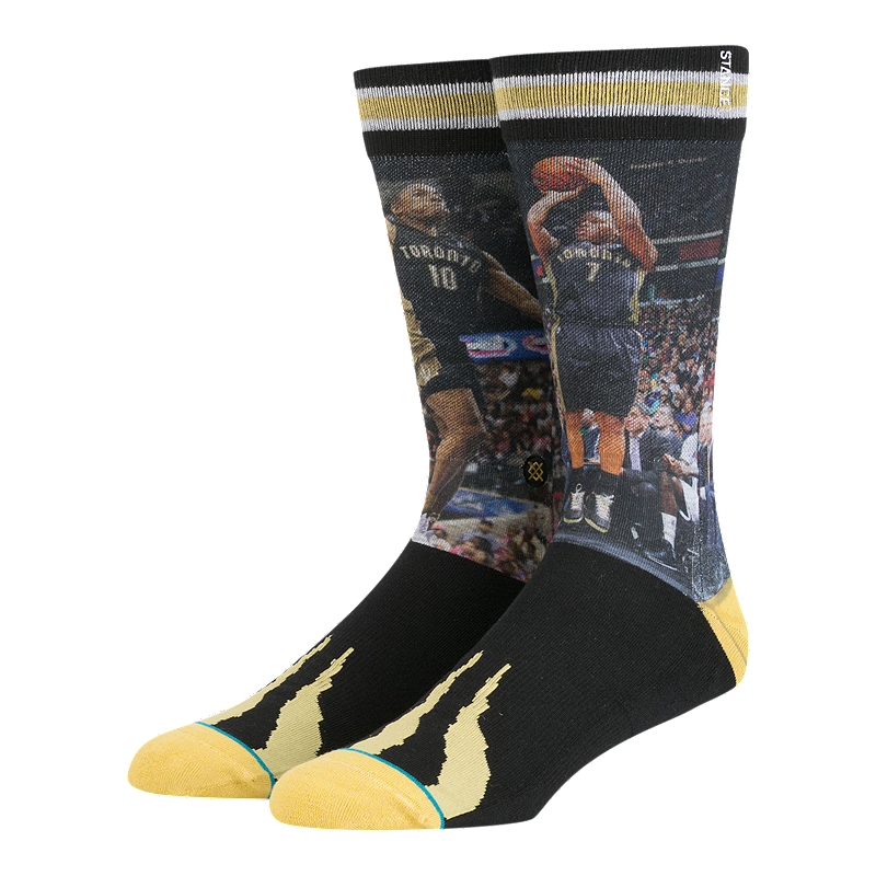 b6cde266d37 Stance Men s NBA Future Legends DeMar DeRozen Kyle Lowry Socks ...