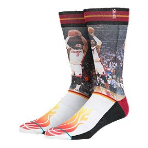 833798b4d83 Stance Men s NBA Future Legends Dwayne Wade and Chris Bosh Crew Socks