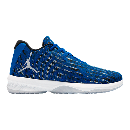 check out 3e1da c1ad5 Nike Men s Jordan B Fly Basketball Shoes - Soar Blue White   Sport Chek