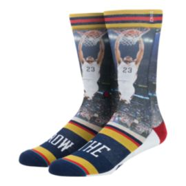 Stance Men's NBA Future Legends  Anthony The Brow Davis Crew Socks