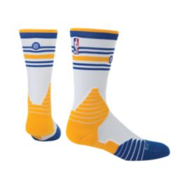 Stance Men's Golden State Warriors On Court Crew Socks
