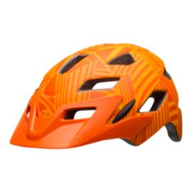 Bell Sidetrack Youth Matte Orange Bike Helmet
