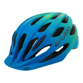 Giro Raze Junior Matte Blue Lime Bike Helmet