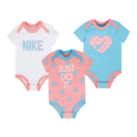 Nike Baby Girls' Bodysuit Set 3 - Pack