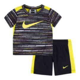 Nike Baby Boys' Predator Print T Shirt & Shorts Set