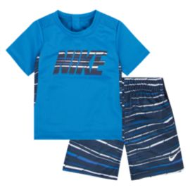 Nike Baby Boys' GFX Allover Print Shirt & Shorts Set