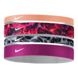 Nike Women's Printed Headbands Assorted - 4-Pack