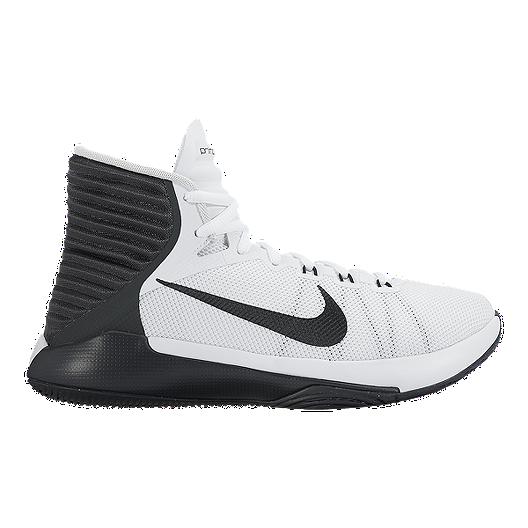 premium selection d7cad 24c22 Nike Women's Prime Hype DF 2016 Basketball Shoes - White/Black