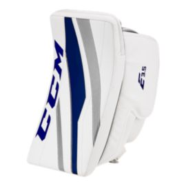CCM Extreme Flex E3.5 Senior Blocker - White/White/Navy/Silver