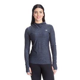 New Balance Women's CW Tech Long Sleeve Hooded Top