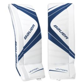 Bauer Vapor X700 Senior Goalie Pads - White/Navy