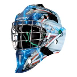 Bauer NME 4 Senior Goalie Mask - NYR