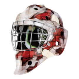 Bauer NME 4 Senior Goalie Mask - Red Wall