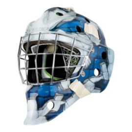 Bauer NME 4 Senior Goalie Mask - Blue Wall
