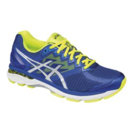 ASICS Men's GT-2000 4 Running Shoes - Blue/Lime Green