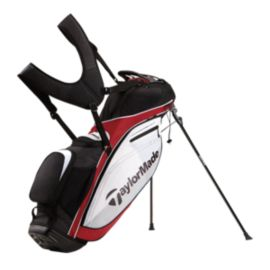 TaylorMade TourLite Stand Bag - Red/Black/White