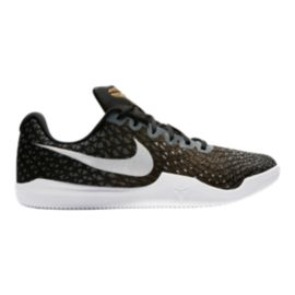 Nike Men's Kobe Mamba Instinct Basketball Shoes - Black/Gold Pattern