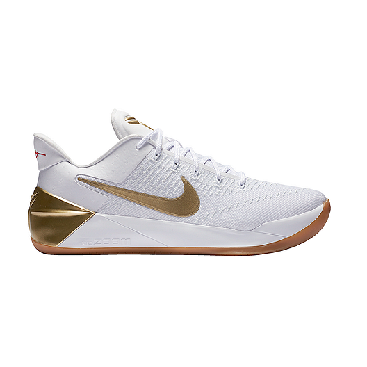 sale retailer 86fda 33491 Nike Men's Kobe A.D. 'Big Stage' Basketball Shoes - White ...