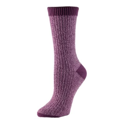 Columbia Women's Marled Rib Crew Socks 2-Pack
