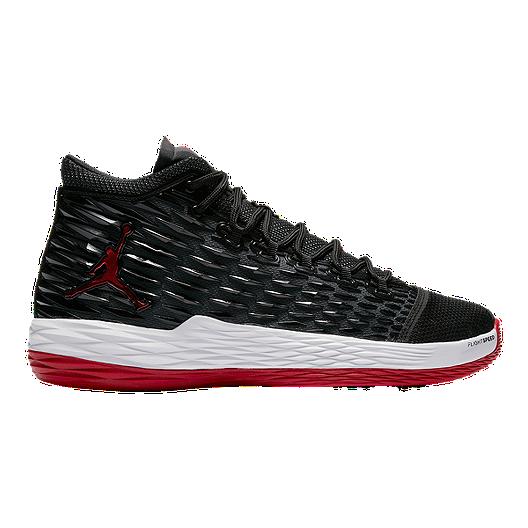 Nike Men's Jordan Melo M13 Basketball Shoes - Black/Red | Sport Chek