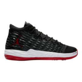 Nike Men's Jordan Melo M13 Basketball Shoes - Black/Red