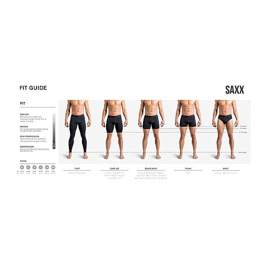 26f26650d SAXX Men s Ultra Tri-Blend With Fly Boxer Briefs. (1). View Description