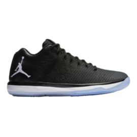 Nike Men's Jordan XXXI Low 'Playoff' Basketball Shoes - Black/White