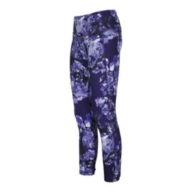 Lolë Women's Eliana Floral All Over Print Crop Tights
