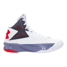 Under Armour Men's Rocket Basketball Shoes - White