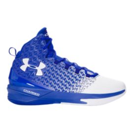 Under Armour Men's ClutchFit Drive 3 Basketball Shoes - Blue/White