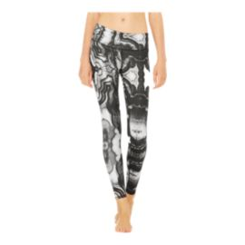 Alo Women's Airbrush Tech Lift All Over Print Leggings