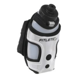 Fitletic HydraPocket 12oz Handheld Waterbottle - Grey