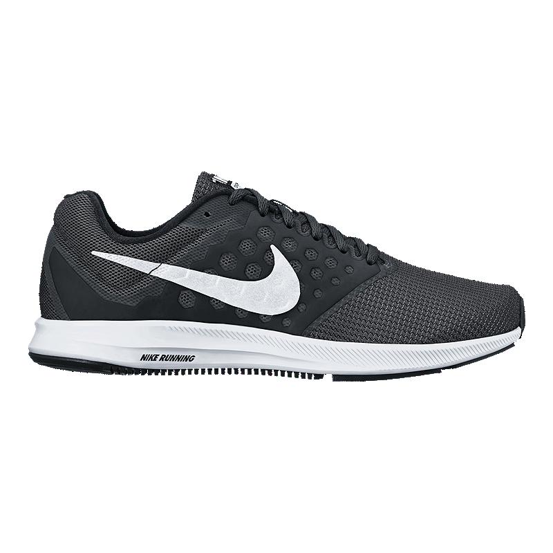 2fd8f019f6cc Nike Women s Downshifter 7 Running Shoes - Black White