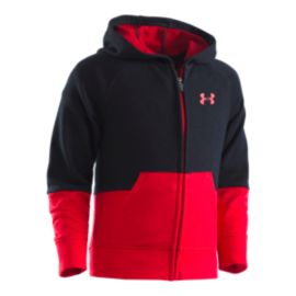 Under Armour Boys' 4-7 Colorblock Hoodie