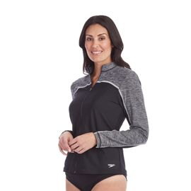 Speedo Women's Full Zip Rashguard
