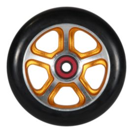 MGP Filth 110mm Black Wheels with Orange Alloy Core