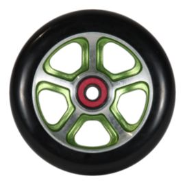 MGP Filth 110mm Black Wheels with Green Alloy Core