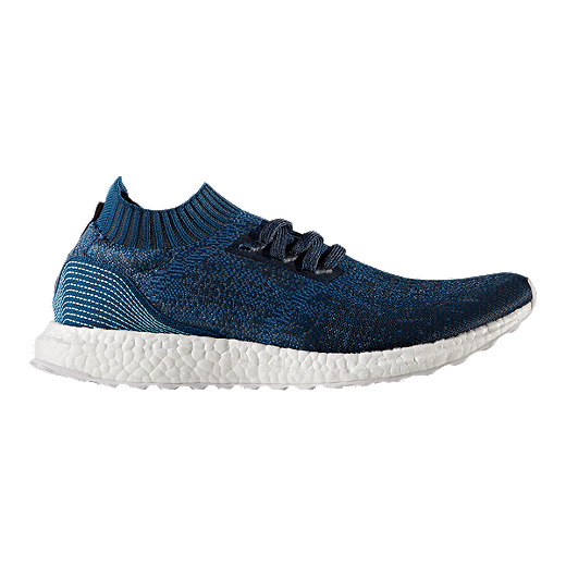 a1067b4b9 ... cheapest adidas mens ultra boost uncaged parley running shoes blue  6f5bd 2b909