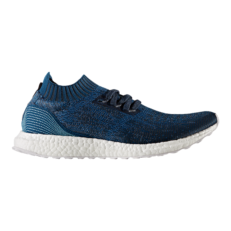 abcbf36462a52 adidas Men s Ultra Boost Uncaged Parley Running Shoes - Blue
