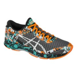 ASICS Men's Gel Noosa Tri 11 Running Shoes - Dark Grey/Graffiti Blue Orange