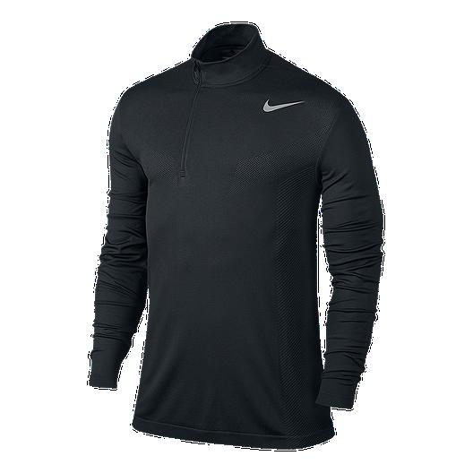 a53472f4 Nike Golf Men's Dri-FIT Knit 1/2 Zip Long Sleeve Shirt   Sport Chek