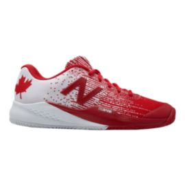 New Balance Men's 996v3 D Tennis Shoes - Red/White