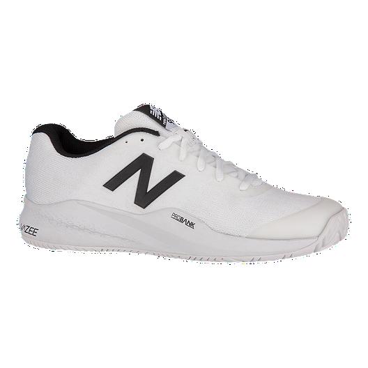 1e268827 New Balance Men's 996v3 D Tennis Shoes - White/Black | Sport Chek