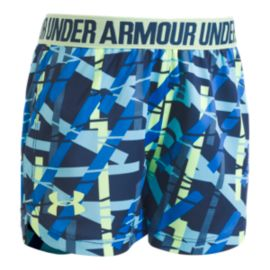 Under Armour Girls' 4-6X Shift Ladder Play Up Shorts