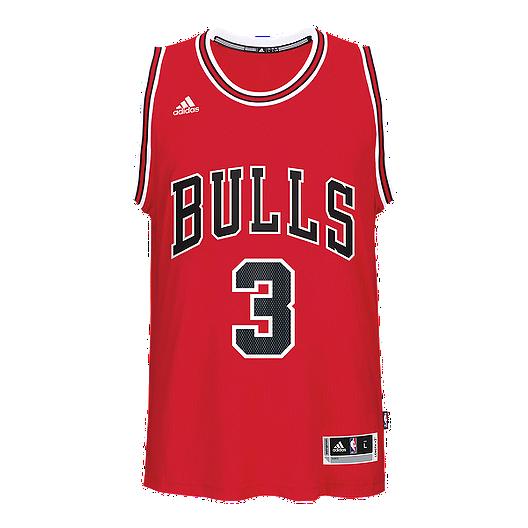 buy popular 4b366 d43d7 Chicago Bulls Dwyane Wade Swingman Basketball Jersey | Sport ...