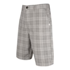 Quiksilver Men's Regeneration 21 Inch Chino Walkshort - Light Grey