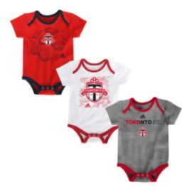 Toronto FC Hat Trick Baby Creeper Set - 3-Pack
